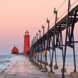Stock Photo: Grand Haven Lighthouse