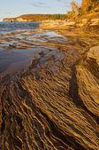 Autumn, Pictured Rocks National Lakeshore — Stock Photo