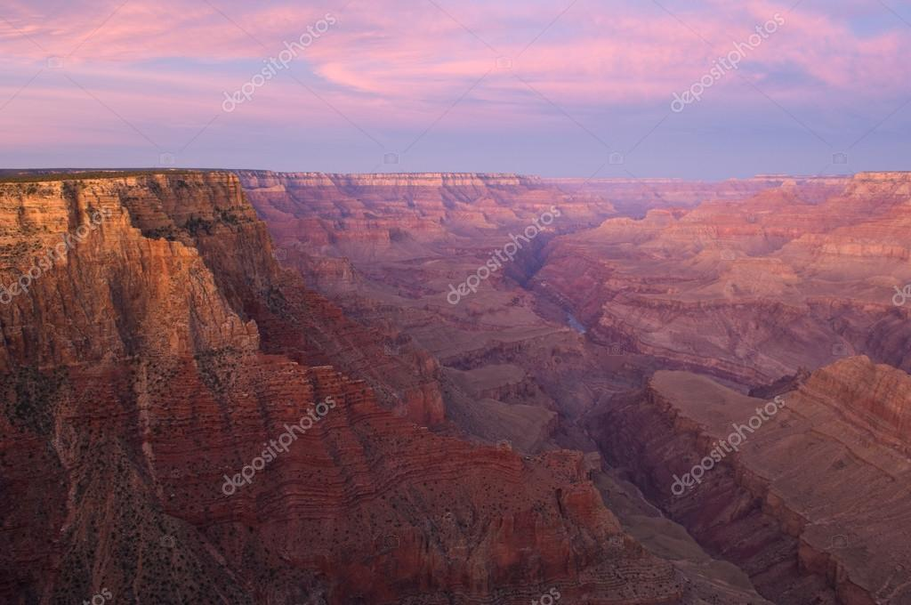 Sunrise from Lipan Point, South Rim, Grand Canyon National Park, Arizona, USA   Stock Photo #12171663