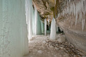 Lake Superior Ice Cave — Stock Photo