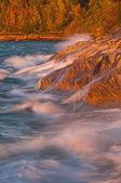 Autumn, Lake Superior — Stock Photo