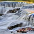 Autumn, Bond Falls Cascade — Stock Photo