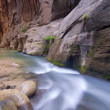 Stock Photo: Virgin River Narrows