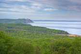 Lake Michigan at Sleeping Bear Dunes — 图库照片