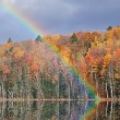 Autumn, Scout Lake — Stock Photo