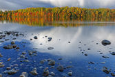 Autumn, Moccasin Lake — Stock Photo