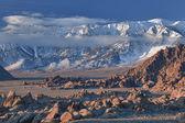Invierno, montañas de sierra nevada — Foto de Stock