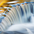Autumn, Bond Falls Cascade — Stockfoto