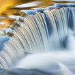 Autumn, Bond Falls Cascade — Foto Stock