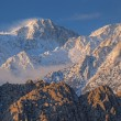 Winter, Eastern Sierra Nevada Mountains — Stock Photo