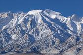 Invierno, del este las montañas de sierra nevada — Foto de Stock