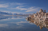 Winter, Mono Lake — Stock Photo