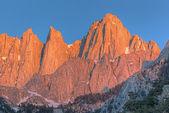 Mount whitney bij zonsopgang — Stockfoto