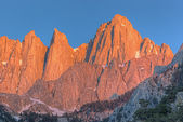 Mt. whitney bei sonnenaufgang — Stockfoto
