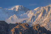 Winter, Eastern Sierra Nevada Mountains — Foto de Stock