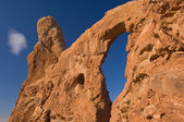 Turret Arch, Arches National Park — Stock Photo