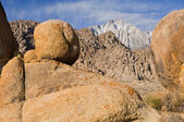 Eastern Sierra Nevada Mountains — Foto de Stock