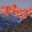 Mt. Whitney at Sunrise — Stock Photo