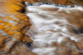 Autumn Autrain Cascade — Stock Photo