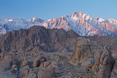 Lone Pine Peak at Sunrise — Stock Photo