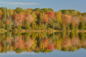 Autumn Seneca Lake Reflections — Stock Photo