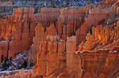 Winter, Bryce Canyon National Park — Stock Photo