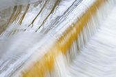 Winter, Battle Creek River Cascade — Stock Photo