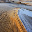 Stock Photo: Winter, Silver Lake Sand Dunes