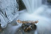Lodu i kaskady — Zdjęcie stockowe