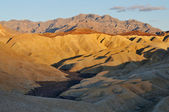Golden Canyon Death Valley National Park — Stock Photo