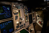 Airline Flight Deck — Stock Photo