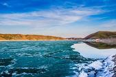 Frozen Lake — Stockfoto