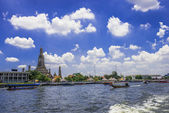 The Chao Phraya River In Bangkok — Stock Photo