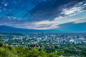 Almaty City View — Stock Photo