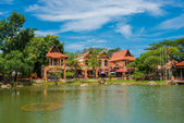 Orientalisches Dorf auf langkawi — Stockfoto