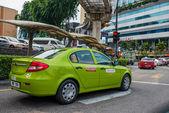 Taxi, Kuala Lumpur, Malaysia — Stock Photo
