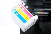 Printer cartridges — Stock Photo
