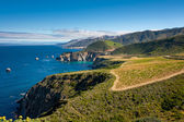 Big Sur Coastline — 图库照片