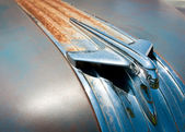 Classic Hood Ornament — Stock Photo