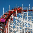 Stok fotoğraf: People on Rollercoaster