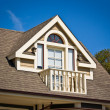 Dormer Balcony - Victorian Style — Stock Photo