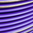 Stock Photo: Purple Grille Abstract