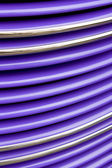 Purple Grille Abstract — Photo