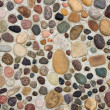 Pebbles in Concrete — Stock Photo