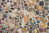 Pebbles in Concrete — 图库照片
