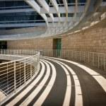 Curving Skywalk — Stock Photo