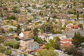 Luchtfoto van de buurt — Stockfoto