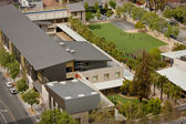 Nieuwe binnenstad school — Stockfoto