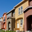 Foto Stock: Row of Townhomes