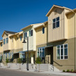 Stock fotografie: Row of Townhomes